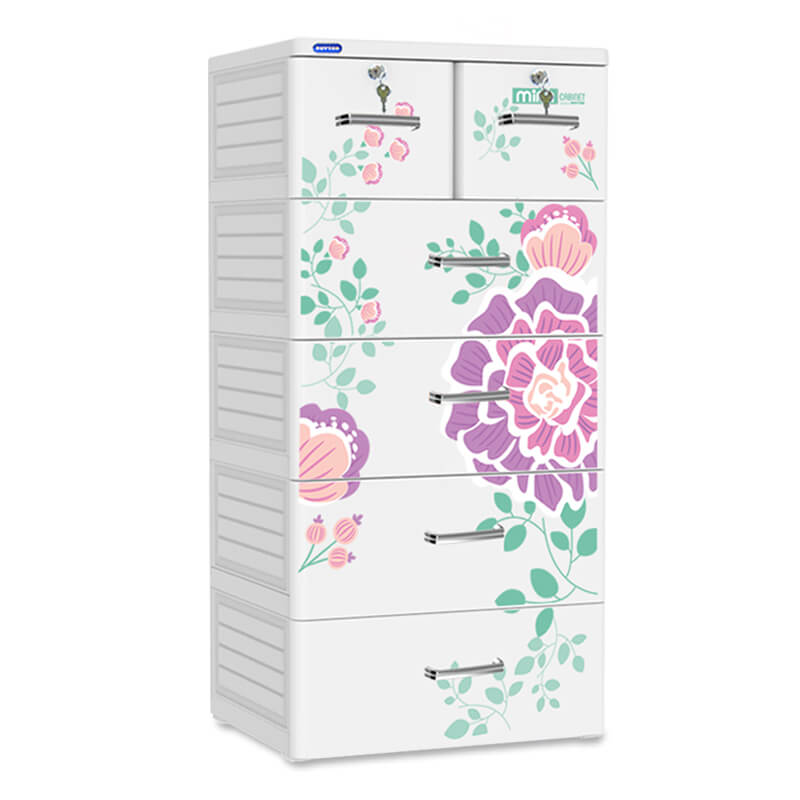 Bảo quản tủ nhựa Duy Tân 5 tầng hiệu quả